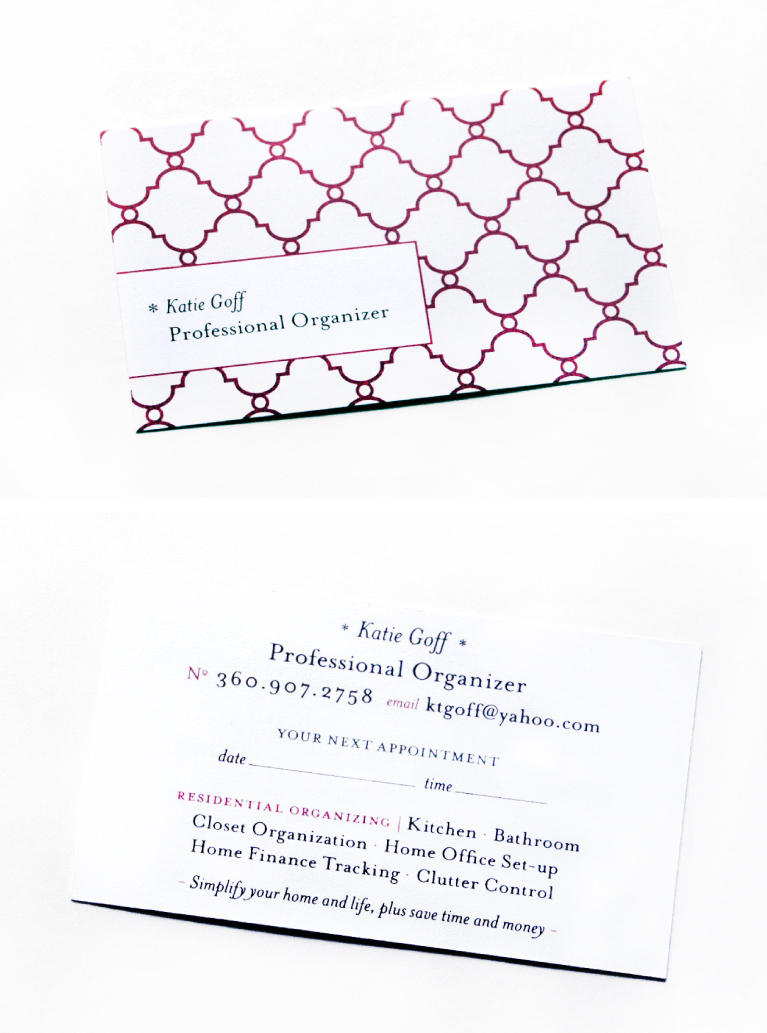 Jessica Kirkpatrick, Flora Fauna Designs, Business Cards, Logo Design, Web Design, Graphic Design, Portland, Oregon, Personal Organizer